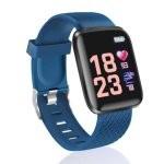 Fierro Sporty Reloj Smartwatch Curvo Azul