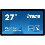 "iiyama ProLite TF2738MSC-B1 27"" 1920 x 1080Pixeles Multi-touch Negro monitor pantalla táctil"