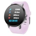 Fierro Round Beng IP67 Reloj Smartwatch Rosa
