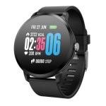 Fierro Round Beng IP67 Reloj Smartwatch Negro