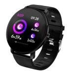 Fierro IP68 Alabama Reloj Smartwatch Negro