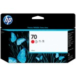 HP Cartucho de tinta DesignJet 70 rojo de 130 ml
