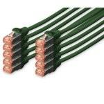 Digitus Cable de Red S-FTP Cat. 6 LSZH 2m Verde 10 Unidades