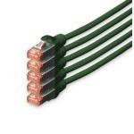 Digitus Cable de Red S-FTP Cat. 6 LSZH 10m Verde 5 Unidades