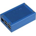 Joy-It rb-ALUcase+01BLUE Carcasa Aluminio para Raspberry Pi