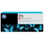 HP Cartucho de tinta DesignJet 771C rojo cromático de 775 ml
