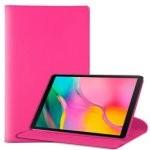 Cool Funda Polipiel Giratoria Rosa para Samsung Galaxy Tab A 2019 T510/T515