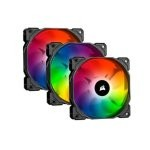 Corsair iCUE SP120 RGB PRO Triple Fan Kit 120mm + Lighting Node Core