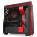 NZXT Caja SemiTorre H710 Negro / Rojo Mate