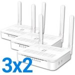 ROUTER WIFI LEVEL ONE AC1200 4P. 2ANT 3X2 PROMO