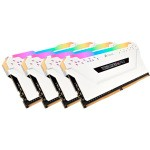 MEMORIA CORSAIR DDR4 32GB 4X8GB PC 2666 VENGEANCE RGB PRO WHITE