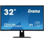 "iiyama ProLite XB3270QS-B1 31.5"" Wide Quad HD IPS Negro Plana pantalla para PC"