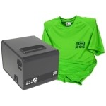 10POS Impresora Térmica RP-10N Usb+Rs+Eth+Camiseta