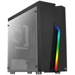 CAJA MICROATX AEROCOOL BOLT NEGRA RGB USB3.0