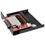 Startech 35BAYCF2IDE Lector de Tarjetas Compact Flash a IDE para Bahía de 3.5 Pulgadas
