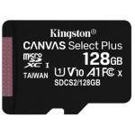 MEMORIA 128GB CANVAS SELECT PLUS MICRO SD KINGSTON
