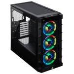 Corsair iCUE 465X RGB Cristal Templado USB 3.0 Negra