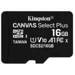MEMORIA 128GB CANVAS SELECT PLUS MICROSD MULTI PACKS OF 3 KINGSTON
