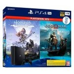 VIDEOCONSOLA SONY PS4 PRO 1TB + GOD OF WAR + HORIZON ZERO D