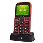 Doro 1361 Teléfono Movil de Teclas Grandes Rojo