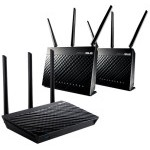 ROUTER ASUS RT-AC66U TRIO WI-FI 3 pack