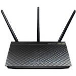Asus RT-AC66U AiMesh AC1750 Pack 2 Routers WiFi Doble Banda Gigabit Negro