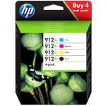 CARTUCHO 912XL PACK CMYK OFFICEJET PRO 8010/8020 HP