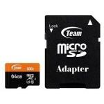 MEM MICRO SDXC 64GB TEAMGROUP UHS-I/U CL10 / ADAPTADOR/ R