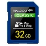 MEM SDHC 32GB TEAMGROUP UHS-I/U1 CL10 / V10 / 1(U1) / R: