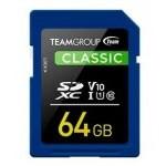 MEM SDXC 64GB TEAMGROUP UHS-I/U1 CL10 / V10 / 1(U1) / R: 8