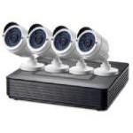 Level One DSK-4001 Kit de Vigilancia 720P CCTV de 4 Canales