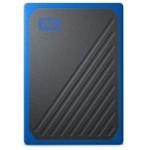 SANDISK MY PASSPORT GO SSD PORTABLE 1TB BLACK WITH COBALT TRIM