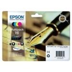 EPSON Cartucho Multipack T16 WF2630/2650/2660