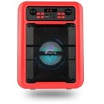 ALTAVOZ NGS SPEAKER ROLLER LINGO BLUETOOTH RED 20W/7H BATE