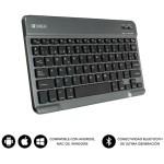 SUBBLIM Teclado Bluetooth Smart BT Keyboard Grey