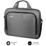 "SUBBLIM Maletín Ordenador Oxford Laptop Bag 11-12,5"" Grey"