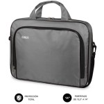 "SUBBLIM Maletín Ordenador Oxford Laptop Bag 13,3""-14"" Grey"