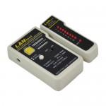 Nanocable TESTEADOR PARA CABLE RJ11/RJ12/RJ45, COAXIAL
