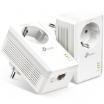 Kit adaptadores powerline tp - link tl - pa7017p kit