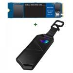 Disco SSD WD NVMe 500gb + Caja Asus USB 3.2 Tipo C