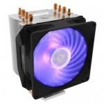Cooler Master Hyper H410R RGB Procesador Enfriador 9,2 cm Negro, Plata
