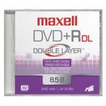 MAXELL DVD 8,5 Gb. GRABABLE. DOBLE CAPA. TARRINA 10 Unidades. 4X