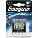 BLISTER 4 PILAS ULTIM LITHIUM TIPO L92 (AAA) ENERGIZER