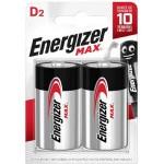 BLISTER 2 PILAS MAX TIPO LR20 (D) ENERGIZER