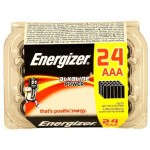 CAJA 24 PILAS ALKALINAS POWER TIPO LR03 (AAA) ENERGIZER