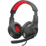 Trust GXT 307 RAVU Auriculares Diadema Negro, Rojo