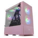 Mars Gaming Caja MCZ PREMIUM M-ATX 2X FRGB Rosa