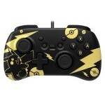 GAMEPAD HORI CONTROLLER MINI PIKACHU BLACK GOLD