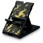 PLAYSTAND HORI PIKACHU BLACK GOLD