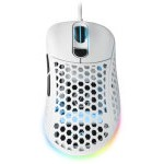 RATON GAMING SHARKOON LIGHT2 200 RGB BLANCO